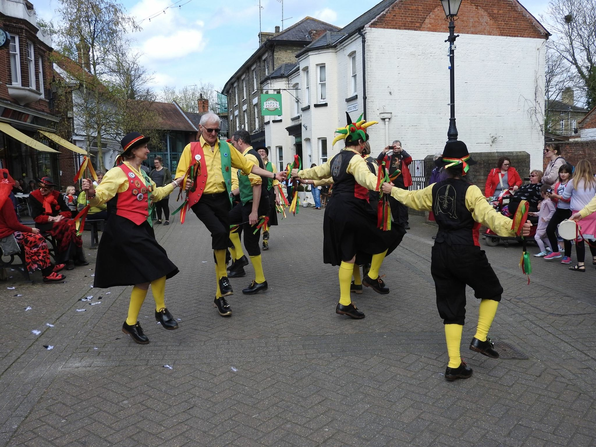 Third Halesworth Day of Dance – April 2017 – Danegeld Morris – our 30th year